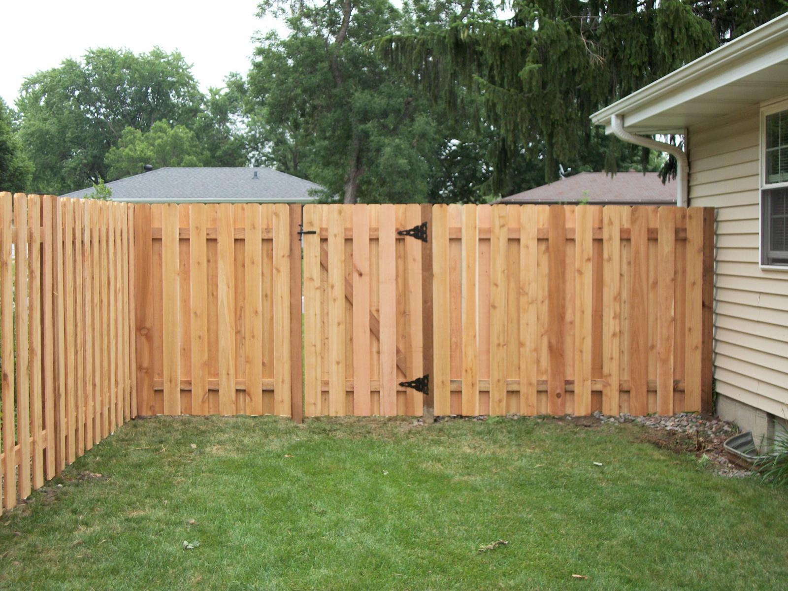 dog eared alternate board privacy fence minneapolis mn