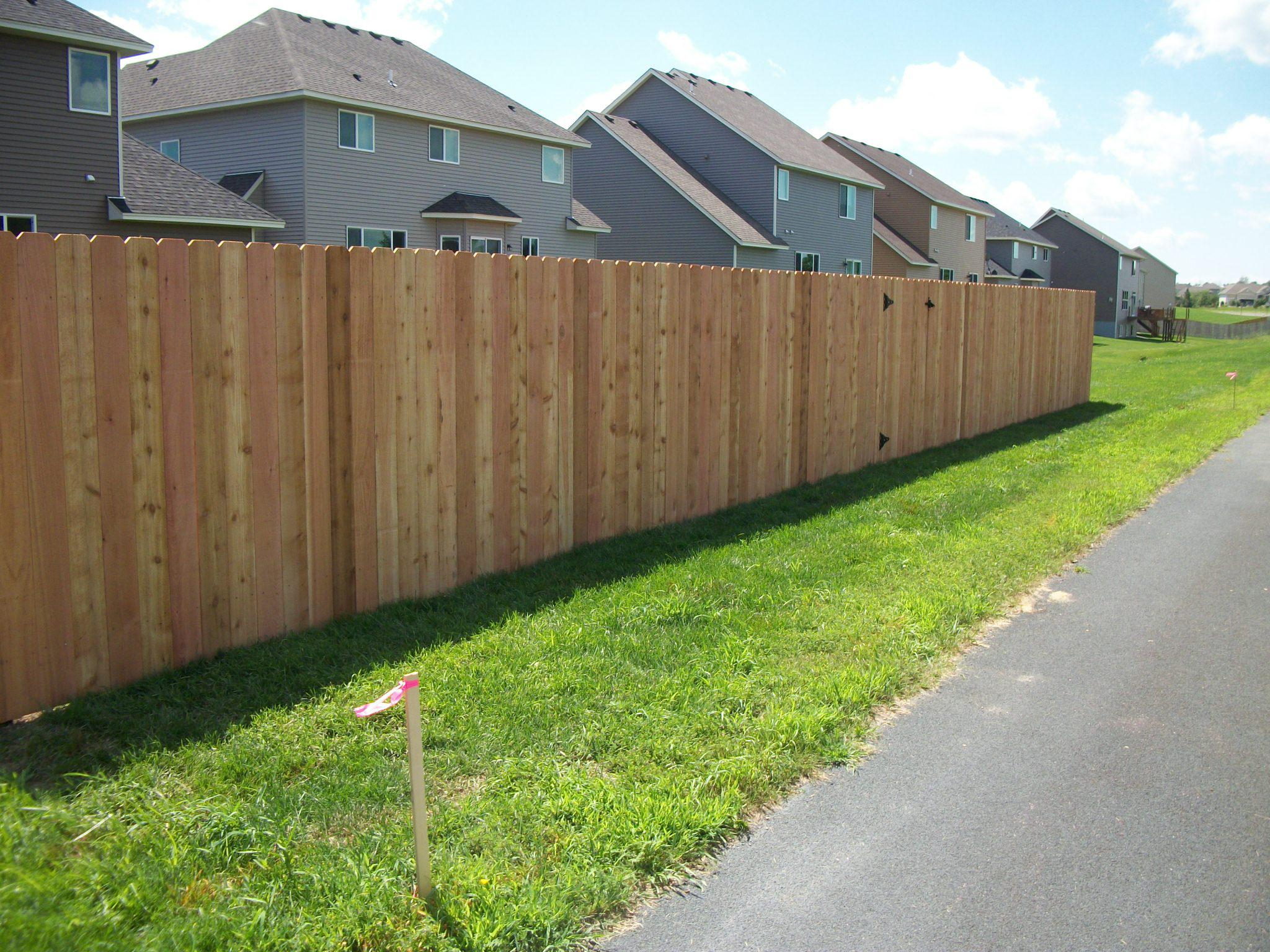 Cedar Privacy Fence Minneapolis Mn Free Estimate 651 354