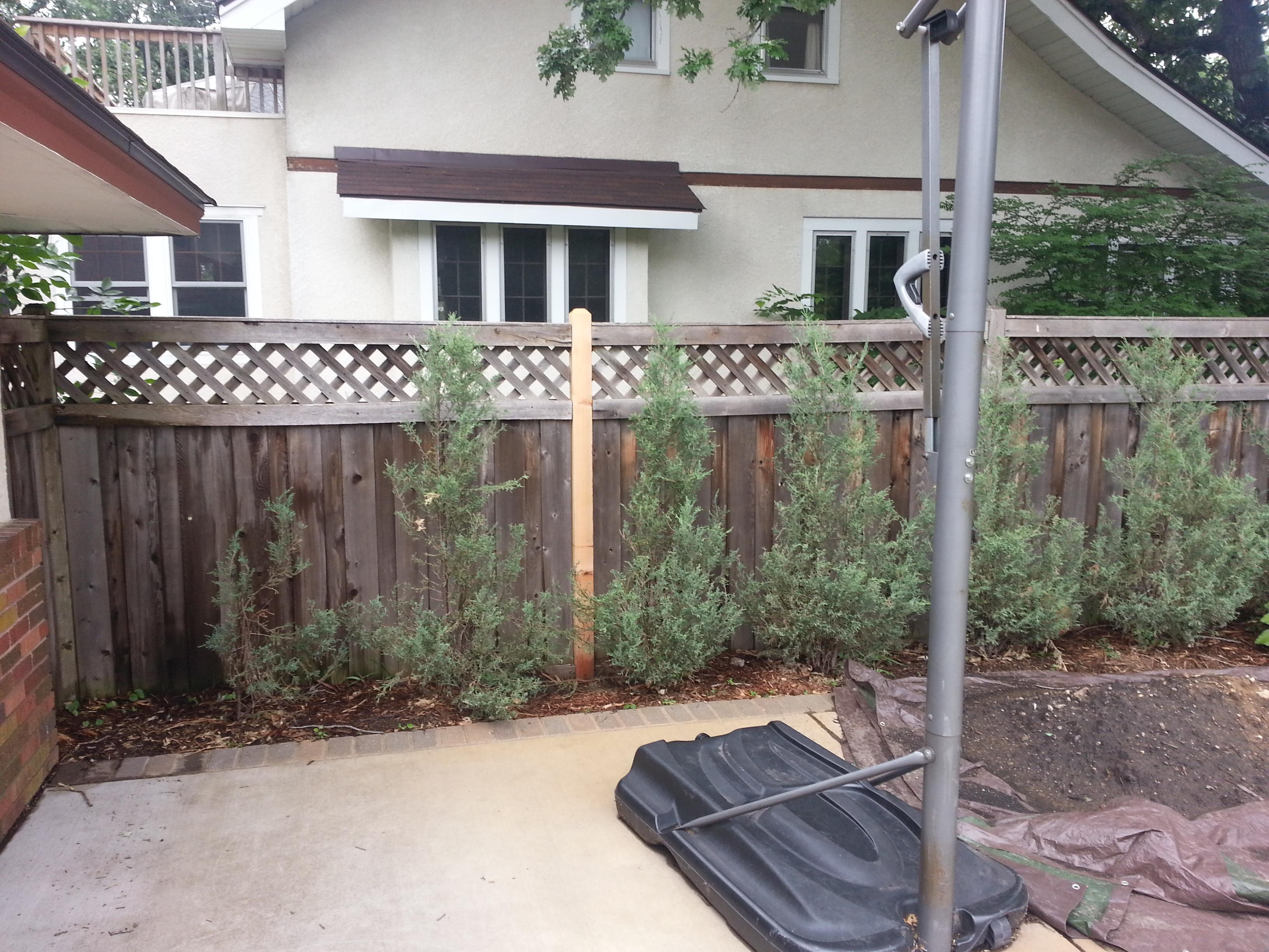 cedar fence repair minneapolis mn cedar fence post repair